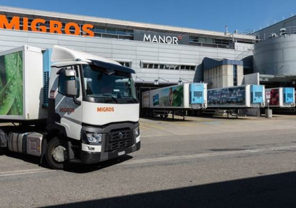 Migros Logistikplattform 2030